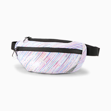 Performance Running Classic Waist Bag, Puma White-spectra, small-GBR