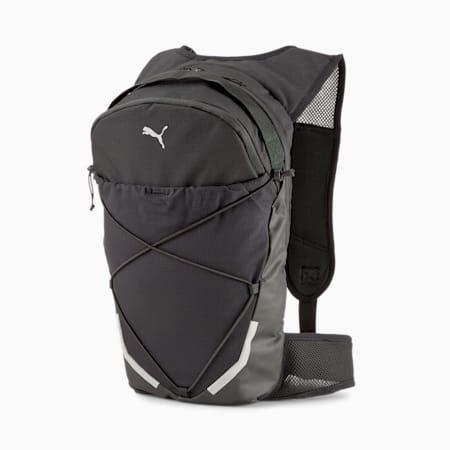 Running Unisex Backpack, Puma Black, small-IND