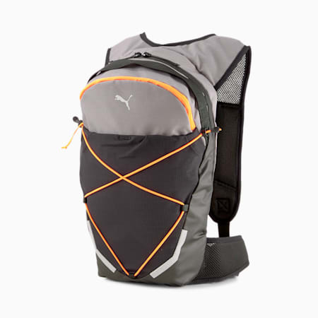 Running Unisex Backpack, CASTLEROCK-Lava Blast, small-IND