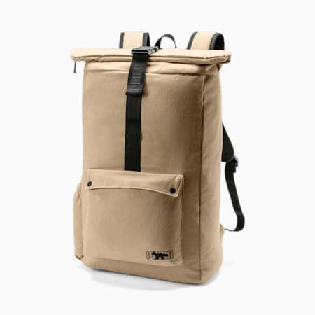 PUMA x MAISON KITSUNÉ Backpack, Travertine, small-SEA