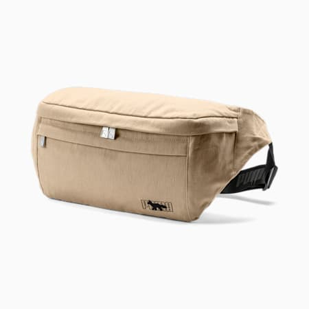 PUMA x MAISON KITSUNÉ Waist Bag, Travertine, small