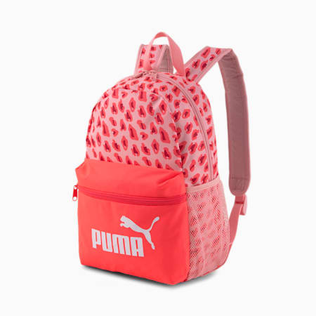 Phase Small Youth Backpack, Peony-Animal AOP, small-SEA