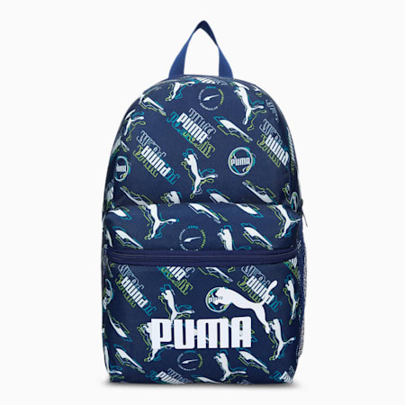 Phase Small Youth Backpack, Elektro Blue-AOP, small-IND
