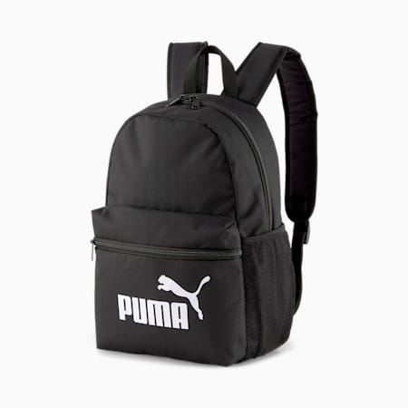Phase Small Youth Backpack, Puma Black, small