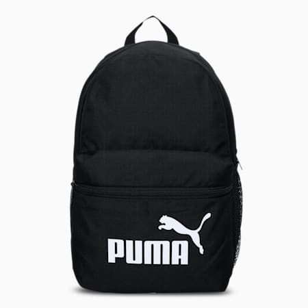 Phase Small Youth Backpack, Puma Black, small-IND