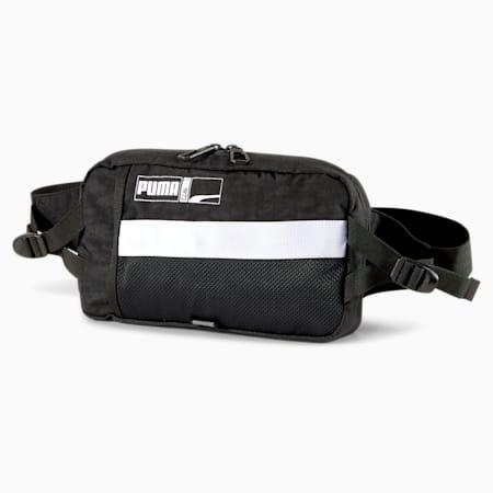 Player Basketball Waist Bag, Puma Black, small