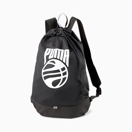 Basketball sporttas, Puma Black, small