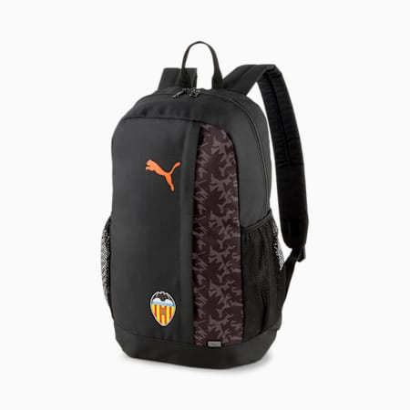 Plecak piłkarski Valencia CF FtblCore Plus, Puma Black-Vibrant Orange, small