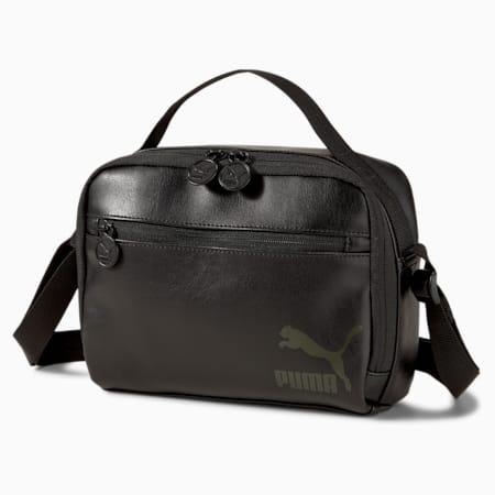 Originals Schultertasche, Puma Black, small