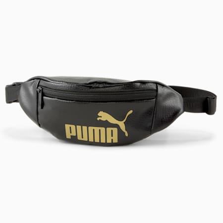 코어 업 웨이스트 백/Core Up Waistbag, Puma Black, small-KOR