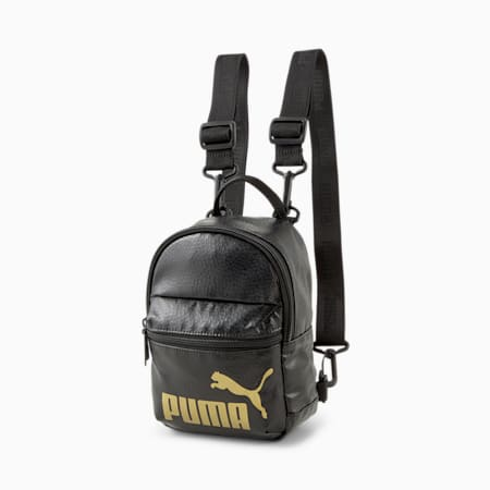 Core Up Minime Women's Backpack, Puma Black, small-IND