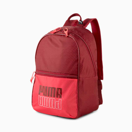 Base Women's Backpack, Intense Red, small-SEA