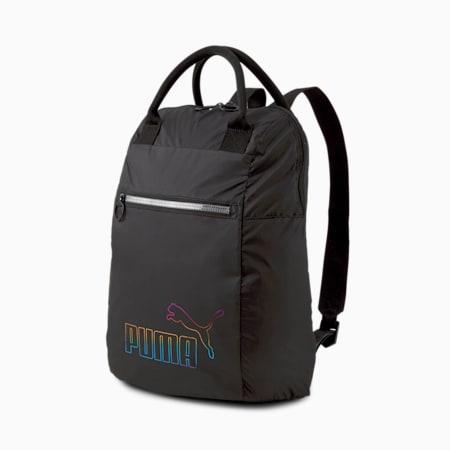 College Women's Backpack, Puma Black, small-SEA