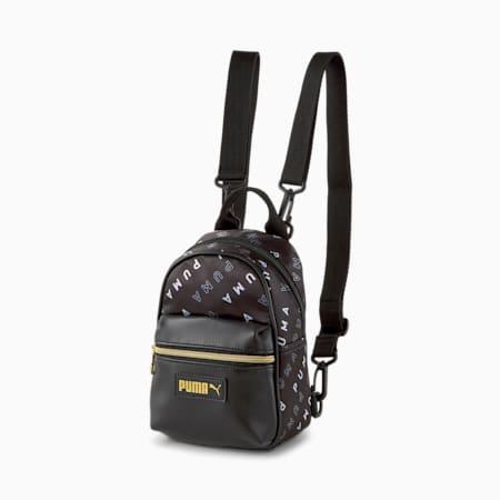 Prime Classics Minime Women's Backpack, Puma Black, small-IND
