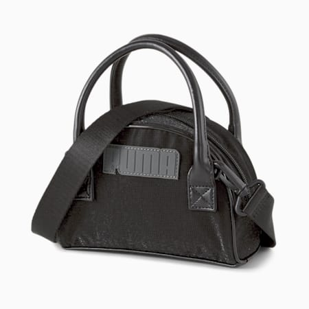 Time Mini Women's Grip Bag, Puma Black, small-SEA