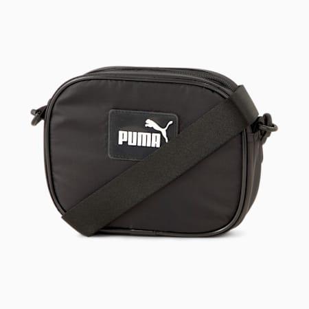 Core Pop Cross Women's Body Bag, Puma Black, small-IND