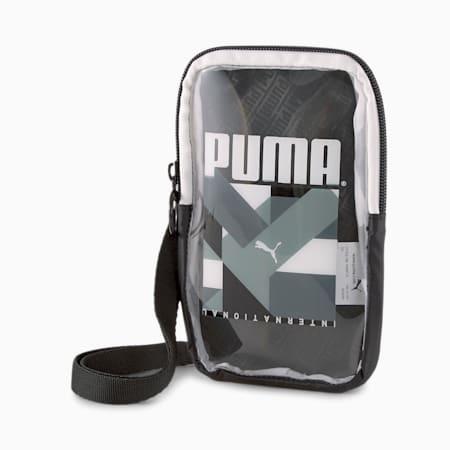 Prime Street Women's Sling Pouch, Puma Black-Puma White, small-IND