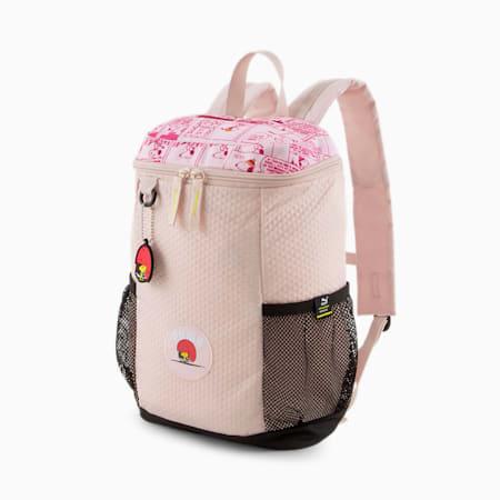 PUMA x PEANUTS Youth Backpack, Lotus, small-GBR