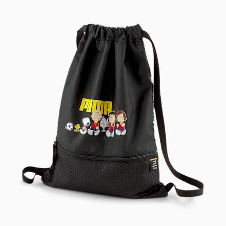 PUMA x PEANUTS Sportbeutel für Jugendliche, Puma Black, small