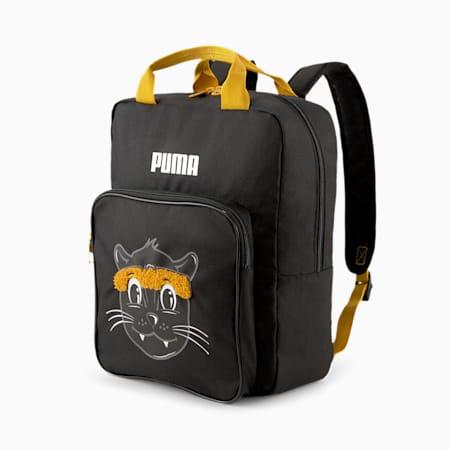 Animals Kid's Backpack, Puma Black-PUMA, small-IND