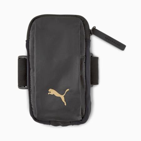 Athletic Women's Arm Pocket, Puma Black-motopack, small-IND
