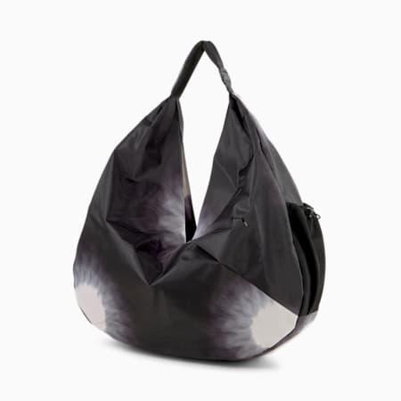Studio Draped Women's Training Gym Bag, Heather, small-GBR