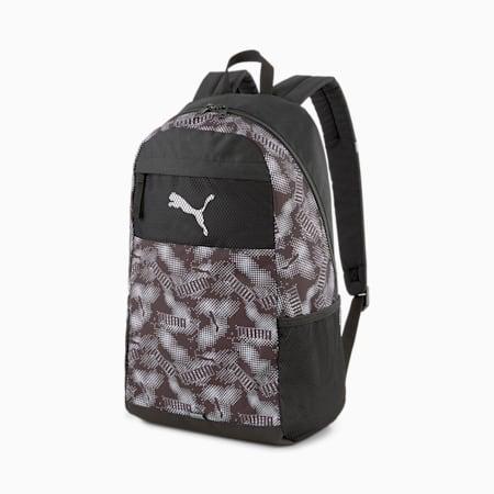 PUMA Beta Unisex Backpack, Puma Black-AOP, small-IND