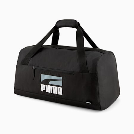 PUMA Plus II Unisex Sports Bag, Puma Black, small-IND
