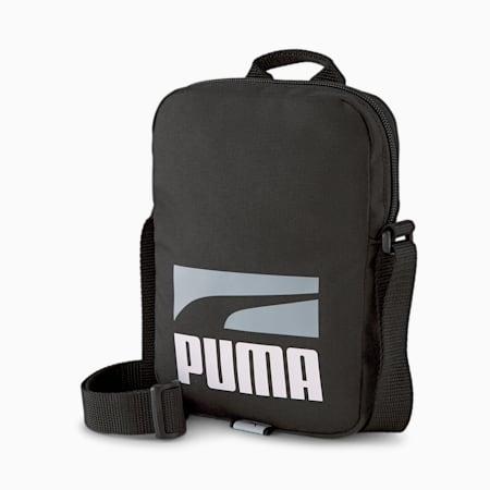 PUMA Plus II Unisex Portable Shoulder Bag, Puma Black, small-IND