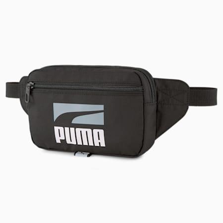 PUMA Plus II Unisex Waist Bag, Puma Black, small-IND