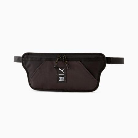 PUMA x FIRST MILE Unisex Cross Body Bag, Puma Black, small-IND