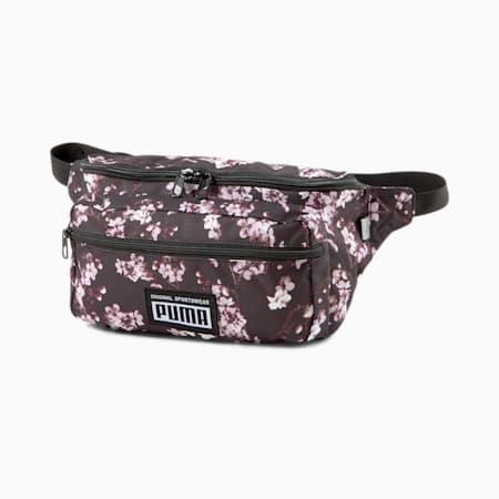 Bolso para cintura Academy, Puma Black-Floral AOP, pequeño