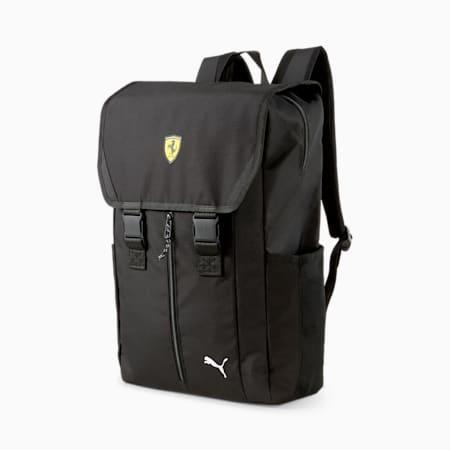 Mochila Scuderia Ferrari Race Sportswear T7, Puma Black, pequeño