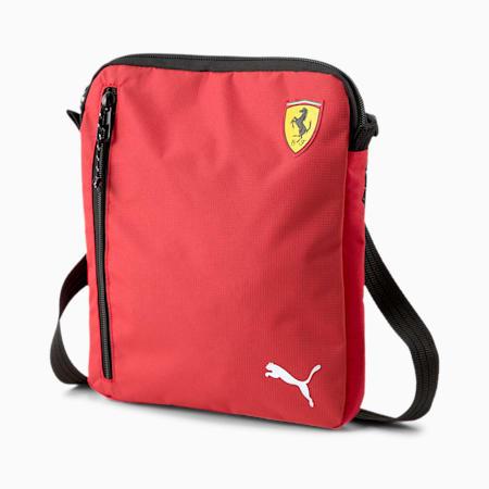 Bolso para colgar del hombro portable Scuderia Ferrari SPTWR Race, Rosso Corsa, pequeño