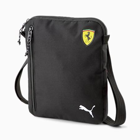 Scuderia Ferrari SPTWR Race Portable Shoulder Bag, Puma Black, small-SEA