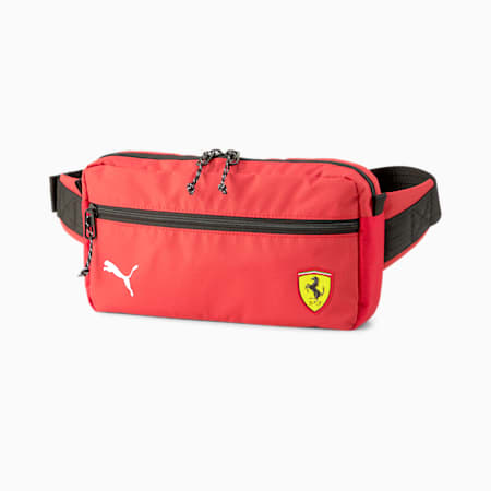 Scuderia Ferrari SPTWR Race Waist Bag, Rosso Corsa, small-SEA