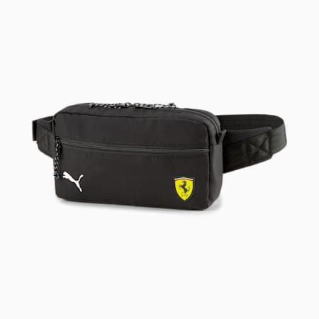 Scuderia Ferrari SPTWR Race Waist Bag, Puma Black, small-GBR
