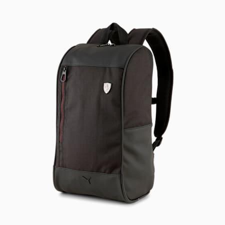 Ferrari SPTWR Style Unisex Backpack, Puma Black, small-IND