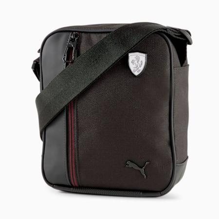 Scuderia Ferrari SPTWR Style Portable Shoulder Bag, Puma Black, small-GBR