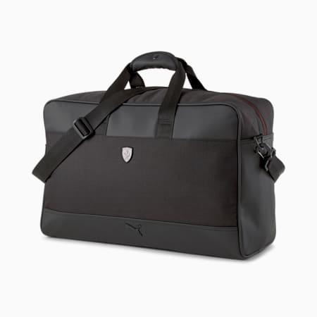 Ferrari SPTWR Weekender Unisex Sports Bag, Puma Black, small-IND