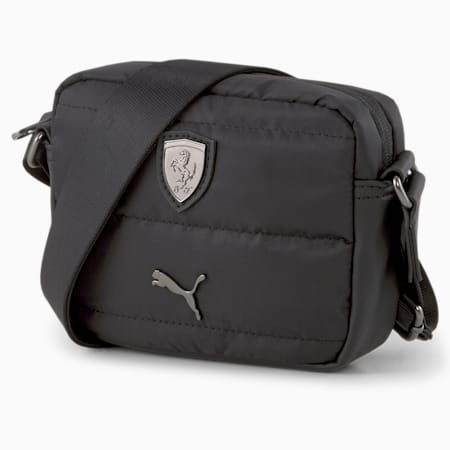 Bolso de hombro para mujer Scuderia Ferrari SPTWR, Puma Black, small
