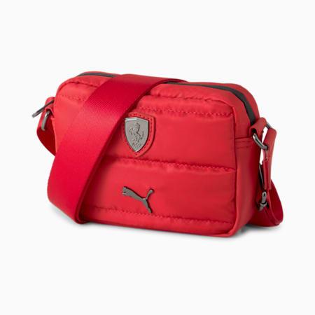 Scuderia Ferrari SPTWR Women's Shoulder Bag, Rosso Corsa, small