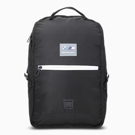 BMW M Motorsport Unisex Backpack, Puma Black, small-IND