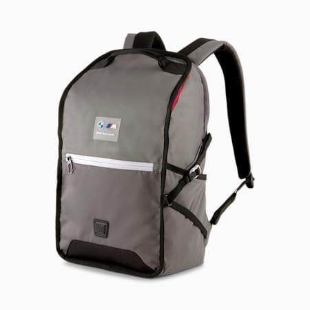 BMW M Motorsport Backpack, Medium Gray Heather, small