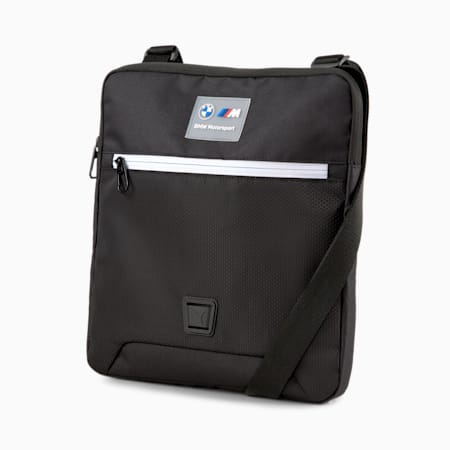 BMW M Motorsport Large Portable Bag, Puma Black, small-SEA