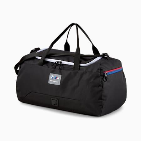 BMW M Motorsport Unisex Duffle Bag, Puma Black, small-IND