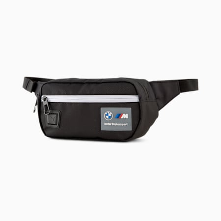 BMW M Motorsport Waist Bag, Puma Black, small