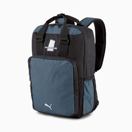 Porsche Legacy Unisex Backpack, Puma Black, small-IND