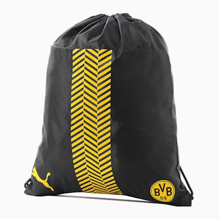 ドルトムント BVB FTBLCORE ジムサック, Puma Black-Cyber Yellow, small-JPN