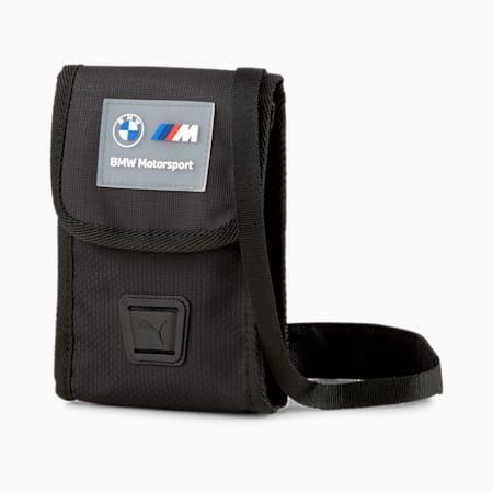 BMW M Motorsport Small Portable Bag, Puma Black, small-GBR